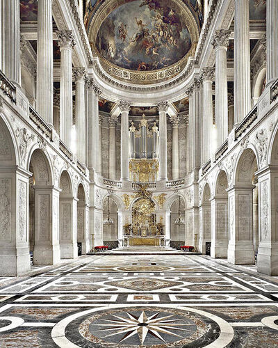 Massimo Listri, 'Chateaux Versailles, The Royal Chapel, France', 2003