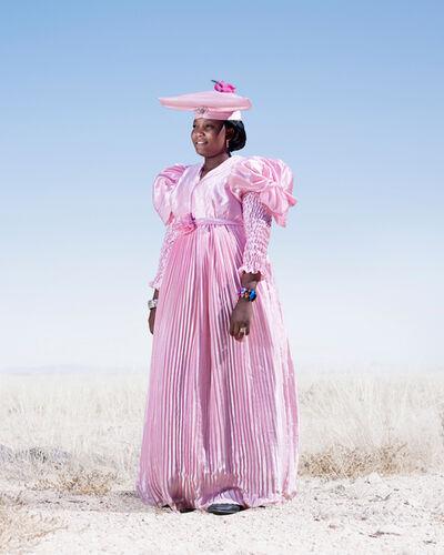 Jim Naughten, 'Herero Woman in Pink Dress', 2012