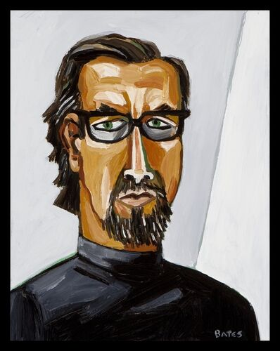 David Bates, 'Self Portrait, Winter', 2009