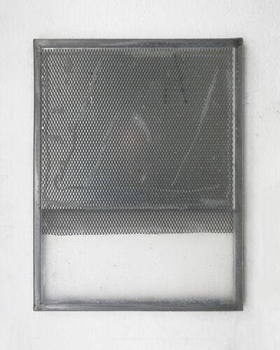 Jason Gringler, '(defaced) monochrome (14) (mesh)', 2018