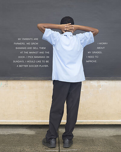 Judy Gelles, 'Fourth Grade - To Improve (St. Lucia: Public School)', 2015