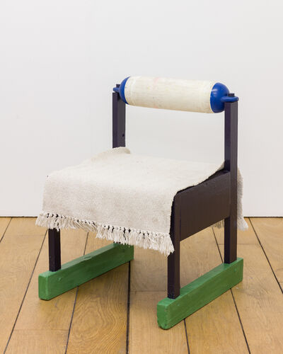 Neal Jones, 'green skis kids fender chair', 2018