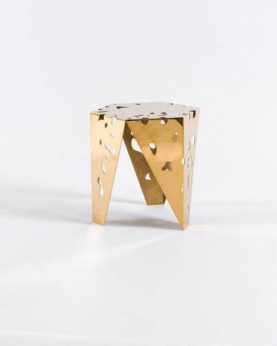 Aranda\Lasch, Matthew Ritchie, 'FDA Stool (Gold)'