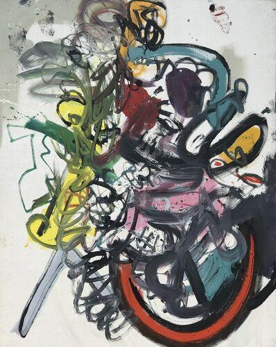 Alan Davie, 'Crazy Dog in a Rocking Chair ', 1963