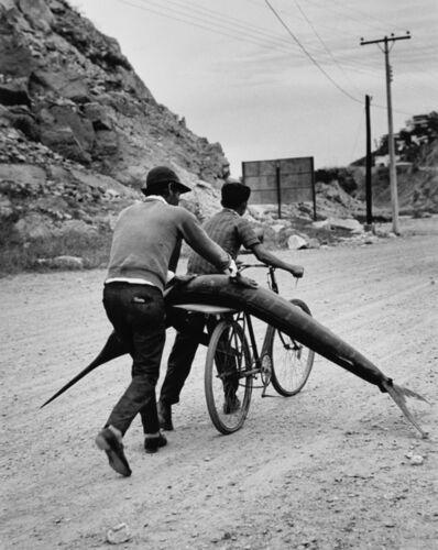 Rodrigo Moya, 'Marlín en bicicleta, Ensenada, B.C.N., México', 1968