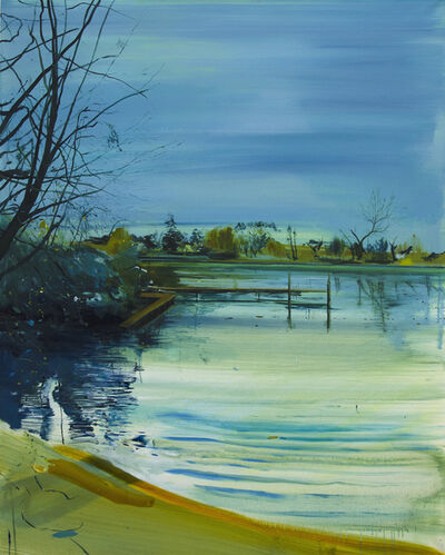 Calum McClure, 'The Bathing Pond Pontoon', 2017