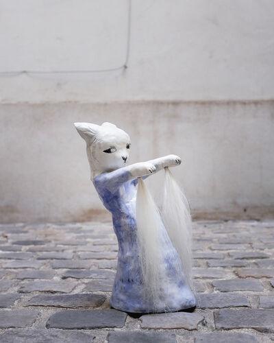 Clémentine de Chabaneix, 'Dancing with horsehair', 2018