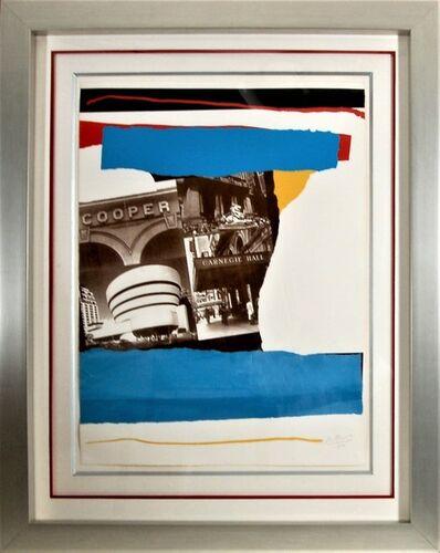 "Robert Motherwell, '""Carnegie Hall"" ', 1982"