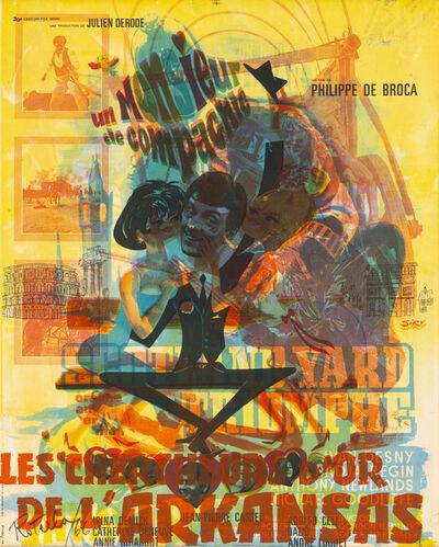Mimmo Rotella, 'Untitled', 1966