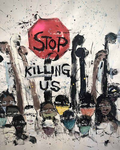 Miles Regis, 'Stop Killing Us', 2020