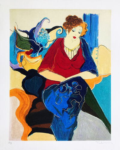 Itzchak Tarkay, 'GRACE III', 1999