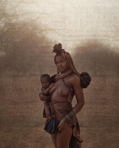 Christopher Rimmer, 'Ovahimba Mother & Child, Kunene River', 2015