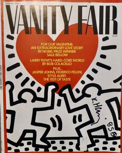 Keith Haring, 'Vanity Fair', 1984