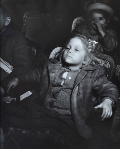 Weegee, 'Girl in Theater', 1940