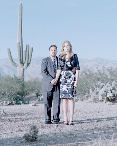 David Magnusson, 'Michael Mychalczuk & Kyrie Mychalczuk, 15 years. Tucson, Arizona.'