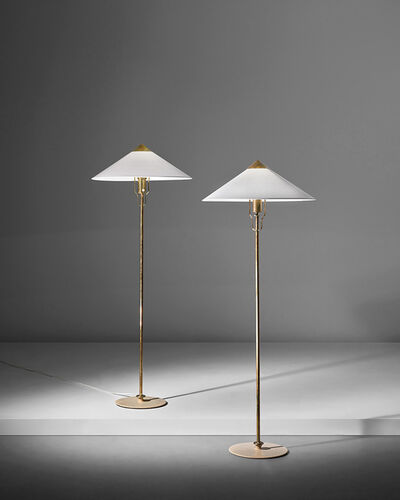 Paavo Tynell, 'Pair of standard lamps, model no. 5762'