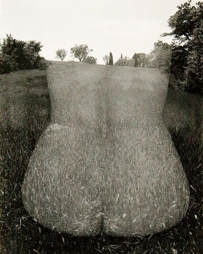 Harry Callahan, 'Eleanor, Aix-en-Provence, France', 1957, 1958, printed before 1980