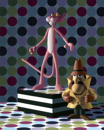 Nate Ronniger, 'Pink Panther and Inspector Clouseau', 2019