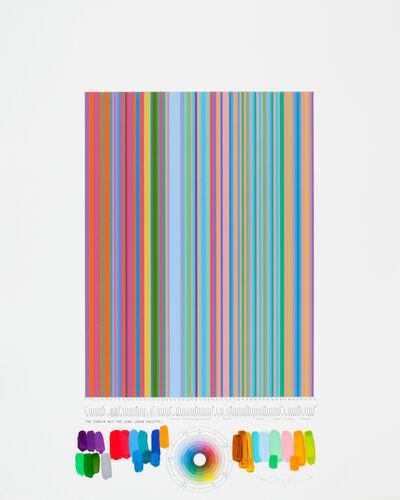 """Tim Bavington, 'Study For """"The Singer Not the Song (2008 Palette)""""', 2008"""