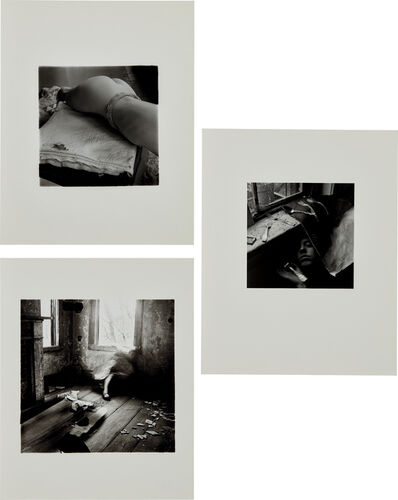Francesca Woodman, 'Untitled (New York); It must be time for lunch now; and House #3, Providence, Rhode Island', 1979-80