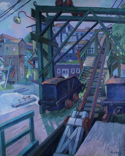 Frederick Buchholz, 'Iron Mine', 1934