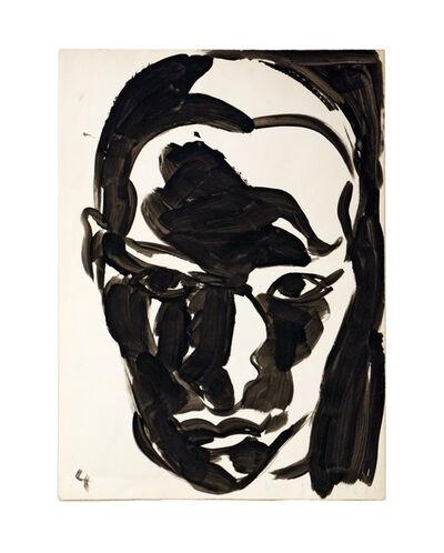 Luis Frangella, 'Head', 1988
