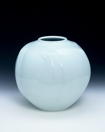 Peter Mark Hamann, 'Sculptural Blue-White Porcelain Vase', 2007