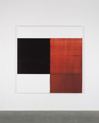 Callum Innes, 'Exposed Painting Crimson Lake', 2018