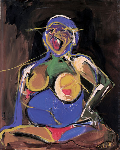 Linda Hackett, 'Red Box Blue Door, Gertrude Stein's on the Second Floor', 1999