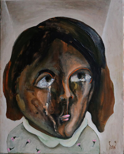 Soad Abdel Rassoul, 'Layla, When I paint my soul', 2020