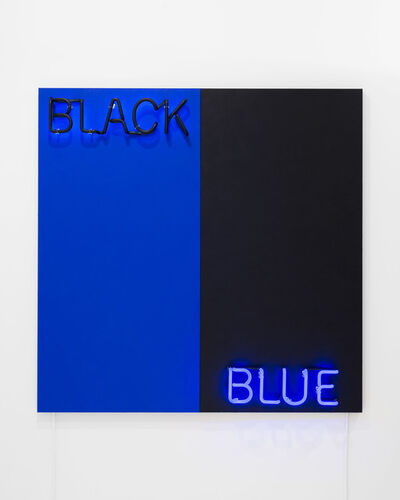 Deborah Kass, 'Black and Blue', 2015