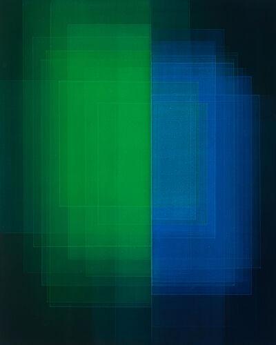 Bernadette Jiyong Frank, 'Migrant (Phthalo Blue/Green)', 2020