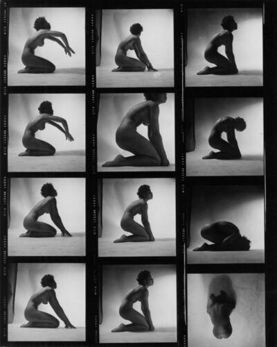Peter Basch, 'untitled contact sheet (093 B)', ca. 1960