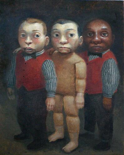 Peter Zokosky, 'The Hominy Triplets', 2014