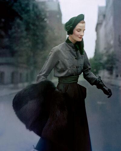 Norman Parkinson, 'Wenda, Travel In Style - Paris', 1949