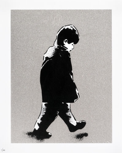 ICY and SOT, 'Little Boy (Silver)', 2014