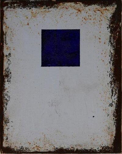 Dana Nehdaran, 'Fe26 Series - Blue Square', 2016