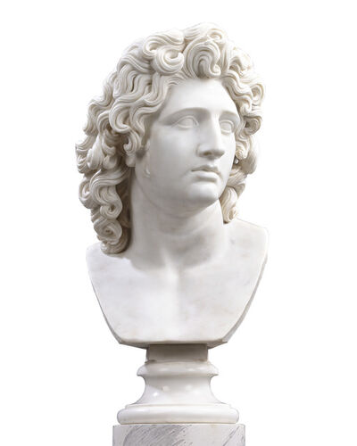 Unknown, 'Bust Of Alexander The Great', Late 18th Century
