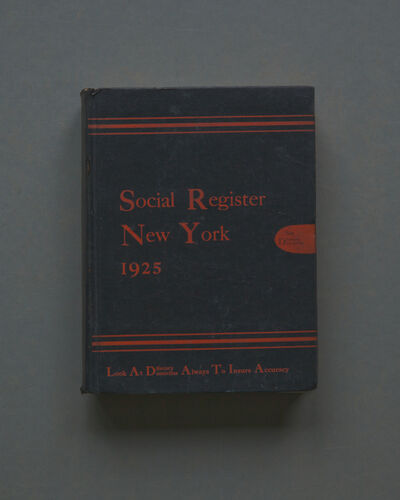 Mary Ellen Bartley, 'Social Register NY', 2017
