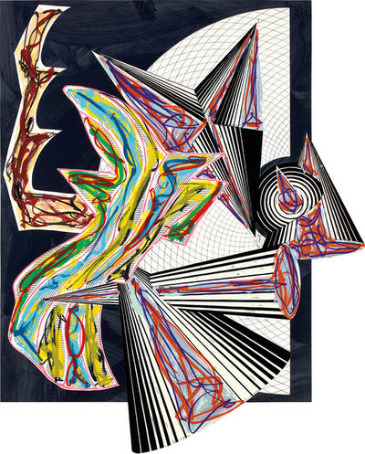 Frank Stella, 'Then Came Death and Took the Butcher, from Illustrations after El Lissitzsky's Had Gadya (A. & K. 179)', 1984