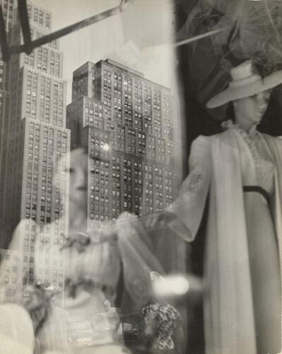 Lisette Model, 'Reflections, 5th Avenue, New York', 1939-1945