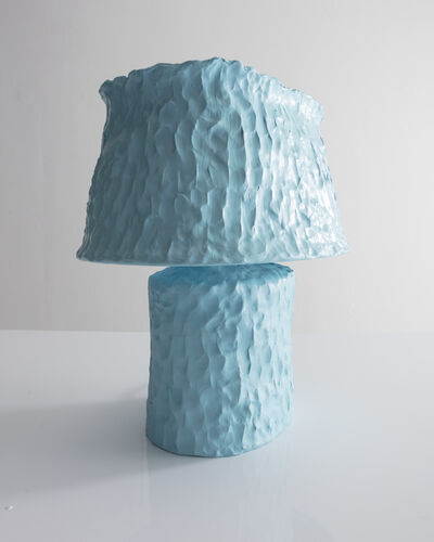 Katie Stout, 'Unique table lamp in hand-built and painted ceramic. ', 2018