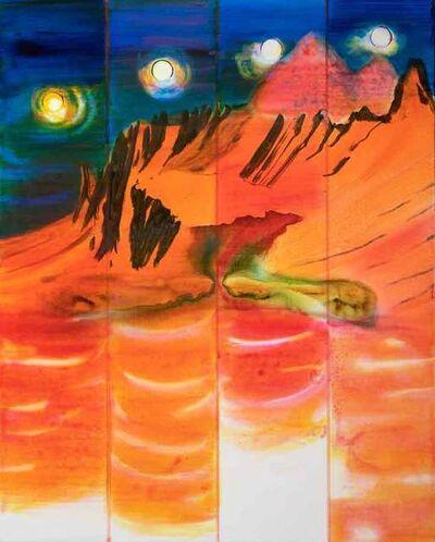 John Kørner, '4 Hours of a Mountain', 2019