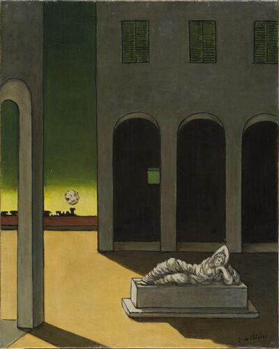 Giorgio de Chirico, 'Piazza d'Italia con Arianna (Piazza d'Italia with Arianna)', ca. 1970-75