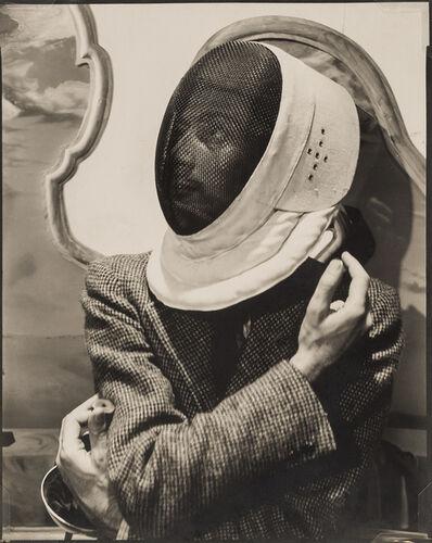 Cecil Beaton, 'Salvador Dali in Fencer's Mask', 1936