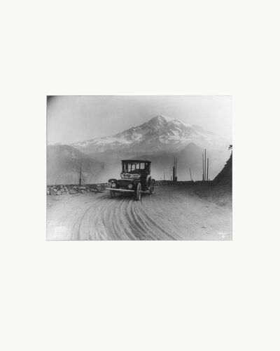 Peter Funch, 'Mt. Rainier from Ricksecker Point, print of vintage photo ', 2015