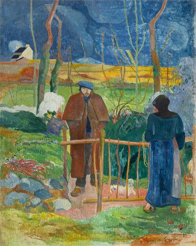 Paul Gauguin, 'Bonjour, Monsieur Gauguin', 1889