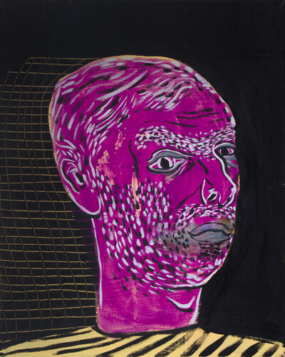 Esteban Ocampo, 'Selfie With Dark Background', 2017