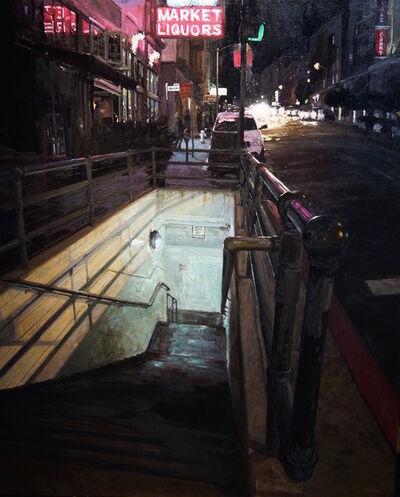 Scott W. Prior, 'Stairs Stockholm Street', 2018