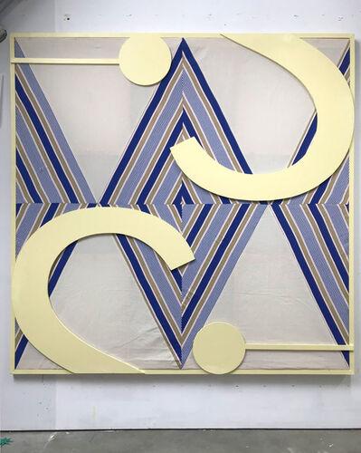 DIEGO DELAS, 'INTERIOR / DÍA (grapa en la fachada)', 2019